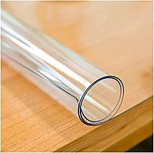 Transparent Tablecloth,Cover Wipeable PVC