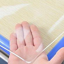 Transparent Tablecloth, PVC Waterproof countertop