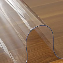 Transparent Tablecloth, PVC Waterproof Plastic