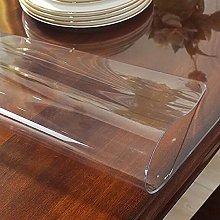 Transparent Tablecloth, Waterproof Tablecloth,