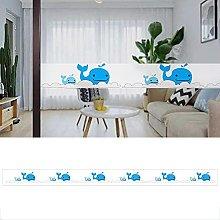 Transparent Wallpaper Border Dolphin Self Adhesive