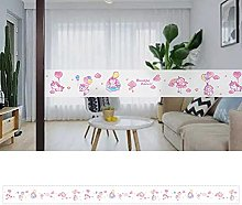 Transparent Wallpaper Border Unicorn Self Adhesive