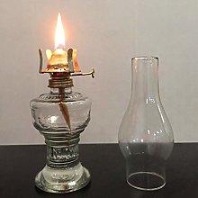 TRANSPLANT 32cm Glass Kerosene Lamp Oil Lamp Glass