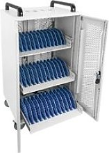 Transport rack cart for 36 laptop, notebook and