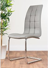 Trapp Upholstered Dining Chair Metro Lane Colour: