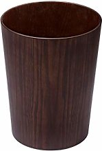 Trash Can 12L/3.17Gallon Wood Trash Can Garbage