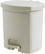 Trash Can Combo Set Waste Recycle Bin Pedal-Type