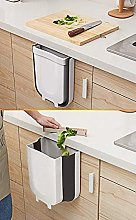 Trash Can, Small Hanging Waste Bin Folded for