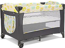 Travel Cot Baby Foldable Cot with Bed,Mosquito