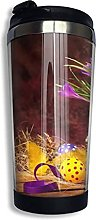 Travel Mug Coffee Cup Easter Egg Stainless Steel