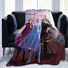 Travel Throw Blankets,Elsa Light Weight Plush