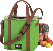 Travelbox Cool Bag in Green Symple Stuff