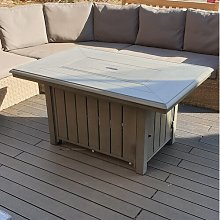Travie Propane Fire Pit Table Sol 72 Outdoor
