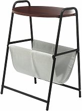 Tray Metal end table Small round side tables Tea