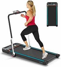 Treadmills, 2-in-1 Desk Folding Treadmill for