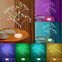 Tree Lamp Lighted , Room Decor Night Light - 16