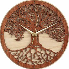 Tree of Life Wall Art Wall Clock Tree Wood Wall