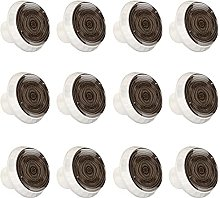 Tree Ring Brown Knobs for Kitchen Cabinets Drawer