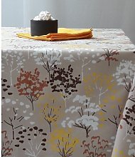 Tree Square Tablecloth Fleur De Soleil