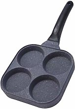 Tree2018 Egg Frying Pan Non Stick, 4 Cup Fried Egg