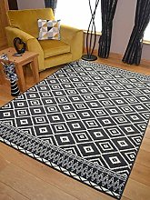 Trend Grey Design Rug. Available in 8 Sizes (160cm