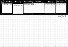 Trendform® Paper Desk Calendar, Pad with 50 Sheets