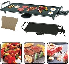Trendi® Electric Teppanyaki Grill Griddle with 8