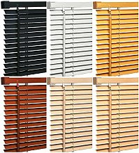 Trendi Pvc Wood Effect Venetian Window Blinds Home