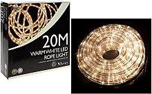 TrendMakers 20 Metre Multi Function Warm White LED