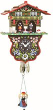 Trenkle Black Forest Clock Swiss House Weather