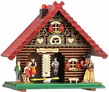 Trenkle German Black Forest weather house red TU