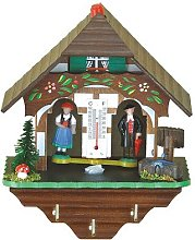 Trenkle German Black Forest weather house with