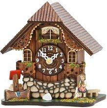 Trenkle Kuckulino Black Forest Table Clock Black