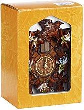 Trenkle Quartz Cuckoo Clock 5 leaves, bird, with