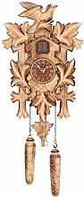 Trenkle Quartz Cuckoo Clock 5 leaves, bird, with
