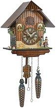 Trenkle Quartz Cuckoo Clock Black forest house TU