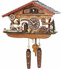Trenkle Quartz Cuckoo Clock Black Forest house