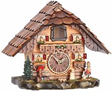 Trenkle Quartz Cuckoo Clock Black forest house