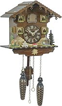 Trenkle Quartz Cuckoo Clock Swiss house TU 432 Q