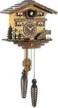 Trenkle Quartz Cuckoo Clock Swiss house TU 458 Q