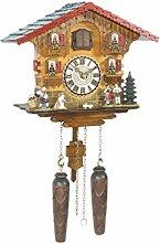 Trenkle Quartz Cuckoo Clock Swiss house with music