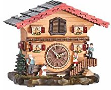 Trenkle Quartz Cuckoo Clock Swiss house with music