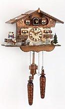 Trenkle Quartz Cuckoo Clock Swiss house with