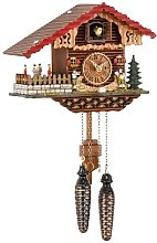 Trenkle Quartz Cuckoo Clock Swiss house with
