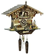 Trenkle Quartz Cuckoo Clock with music, turning