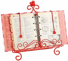 Trenton Gifts Easel Style Cookbook Holder   Red