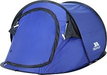 Trespass 2 Man 1 Room Pop Up Camping Tent