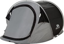 Trespass 2 Man 1 Room Pop Up Tunnel Camping