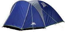 Trespass 4 Man 1 Darkened Room Dome Camping Tent