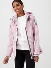 Trespass Voyage Waterproof Jacket - Pink